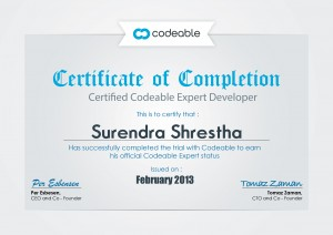 Surendra_certificate_codeable_expert
