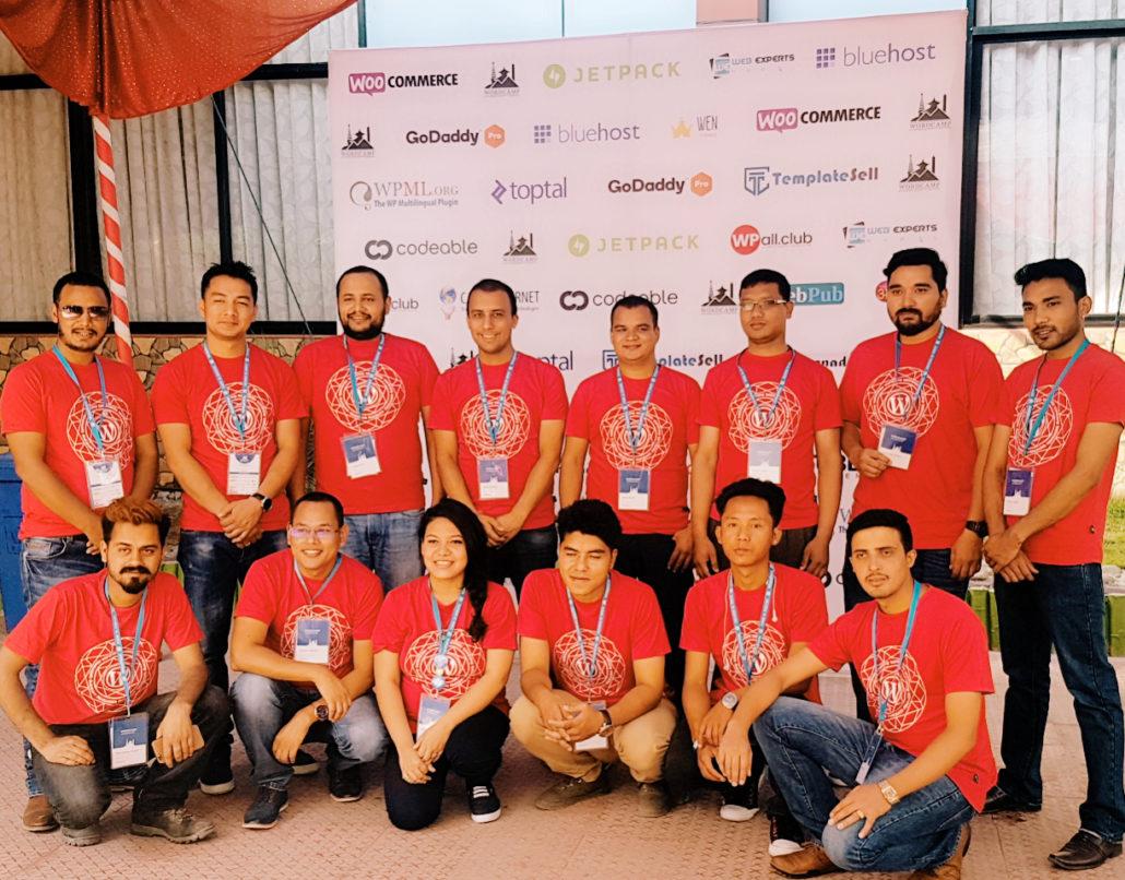 WordCamp Kathmandu 2017 Organizers