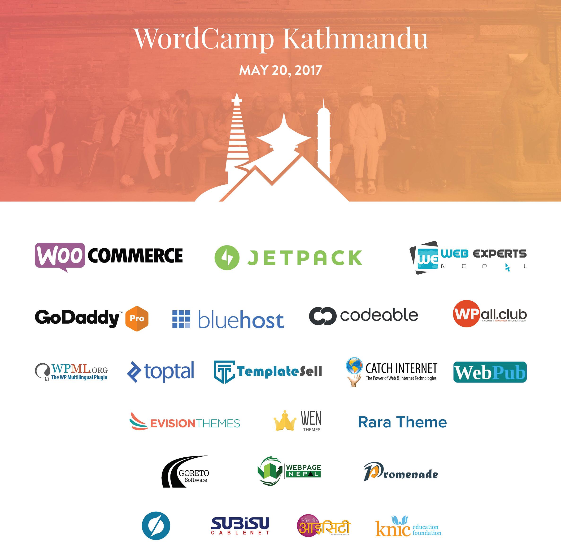 WordCamp Kathmandu 2017 Sponsors