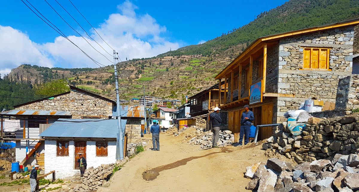Simikot Bazar