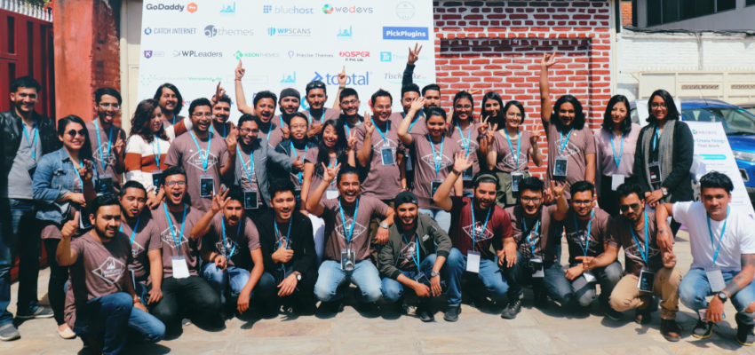 WordCamp Kathmandu 2019 Organizers and Volunteers #WCKTM2019