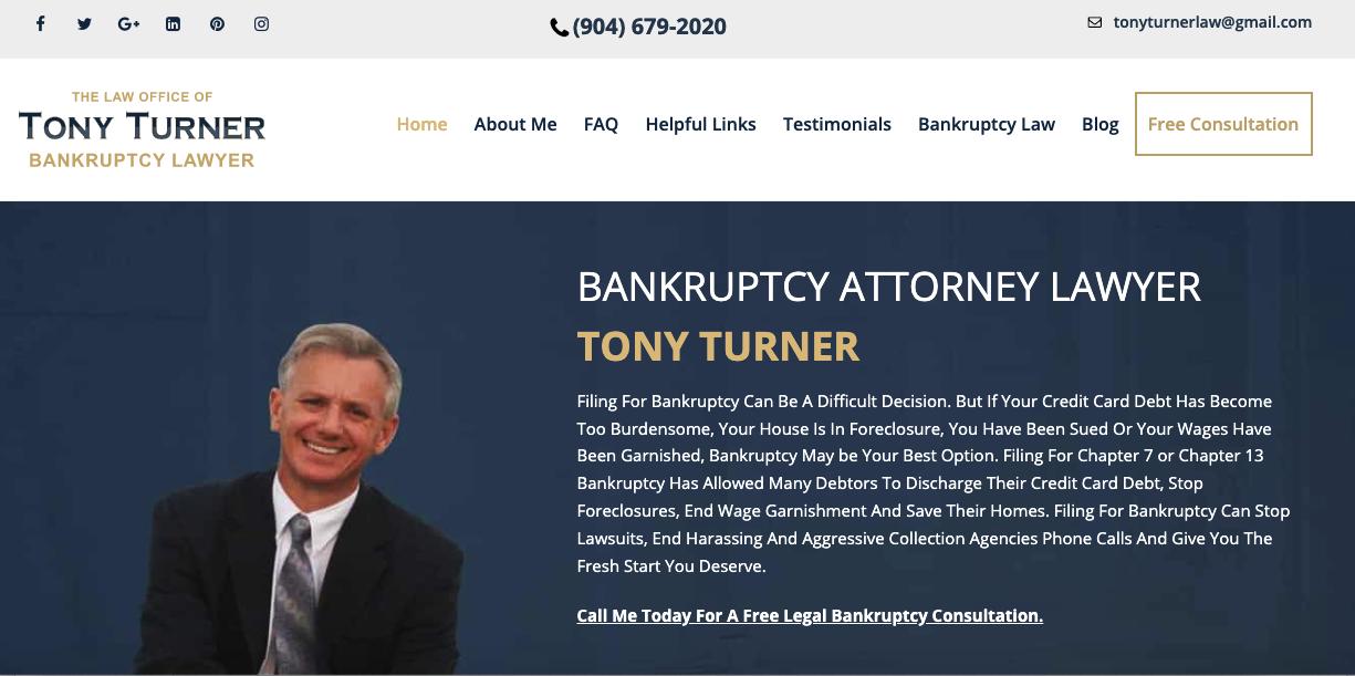 Tony Turner Law : Tony Turner Law