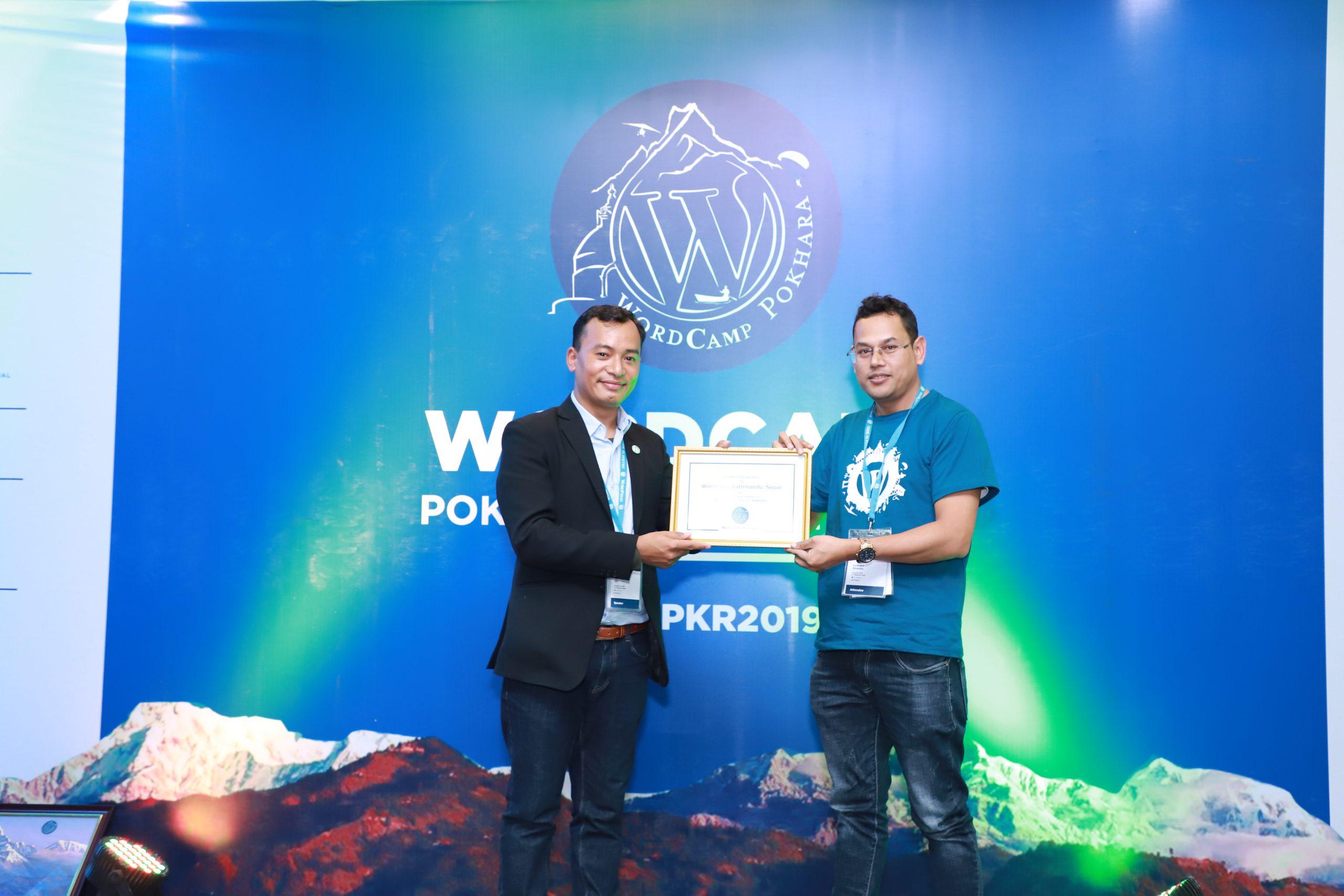 WordCamp Pokhara 2019